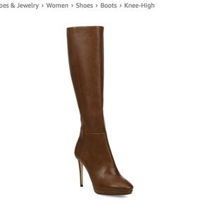 JIMMY CHOO Hoxton 100 Knee-high Leather Boots